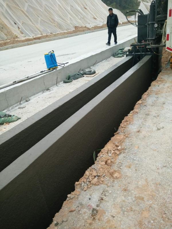 新路缘多功能水泥混凝土滑膜摊铺机nc1300型