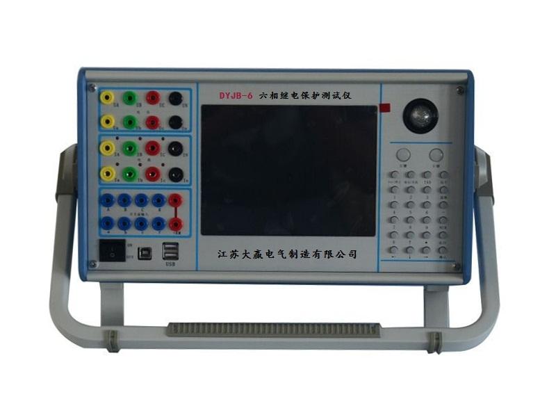 微机三相单片机型微机继电保护测试仪