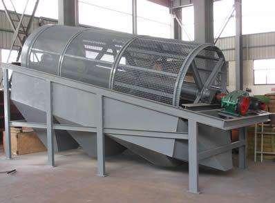 石粉专用滚筒筛沙机 滚筒筛厂家直销价格优惠 选型设计