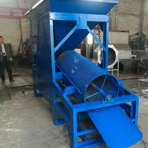 垃圾专用滚筒筛 滚筒筛生产厂家 滚筒筛分机结构设计优势