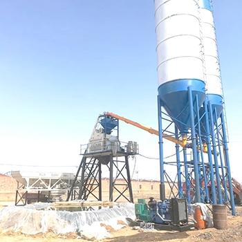 河南省中泰重工HZS75混凝土搅拌站厂家促销