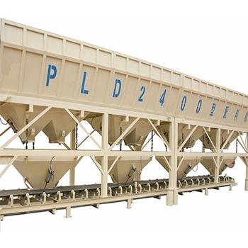 混凝土配料机PLD2400两仓 三仓搅拌站用配料机