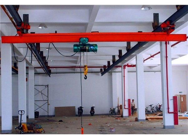仓库用单梁悬挂桥式起重机 纽科伦起重机械生产厂家