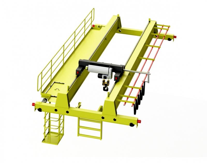 厂房用电动葫芦双梁桥式起重机生产厂家