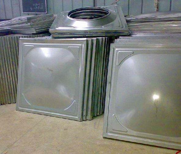 304不锈钢水箱加工立式定做储水箱水塔家用矩形钢板给水