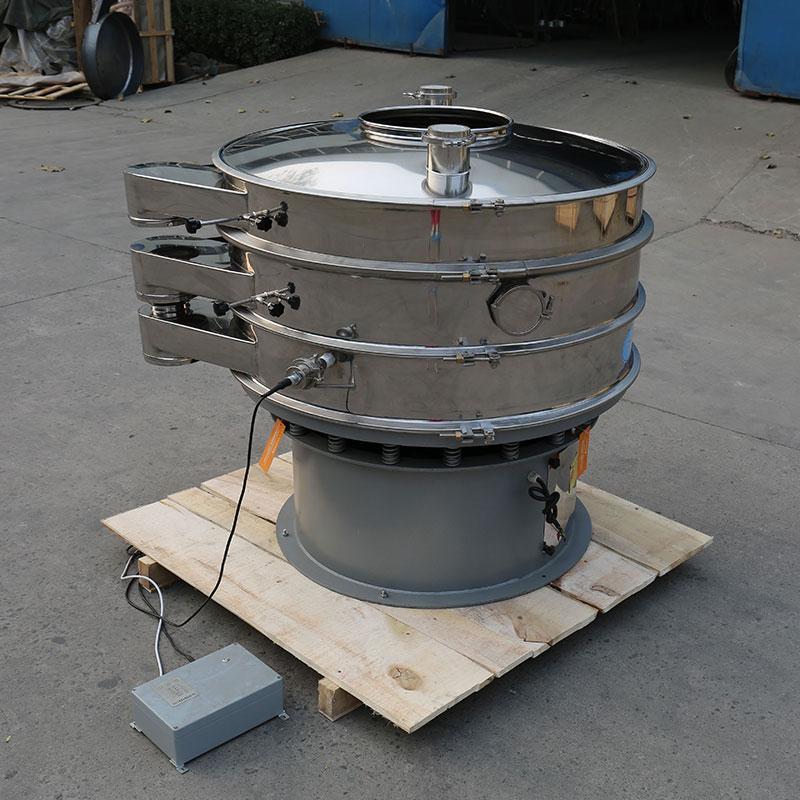 铝粉超声波振动筛 旋振筛价格材质 振动筛厂家设计