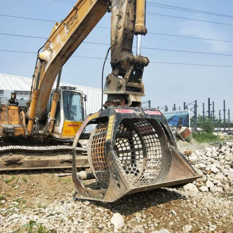 现代215挖掘机洗沙斗 风化砂清洁洗沙斗