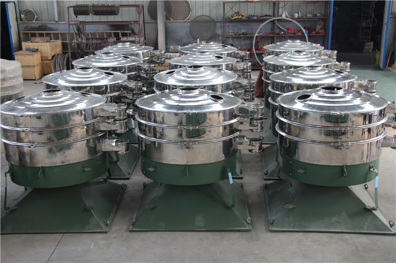 先锋厂家供应圆形摇摆筛 不锈钢振动筛 型号齐全可定制 仿人工筛分