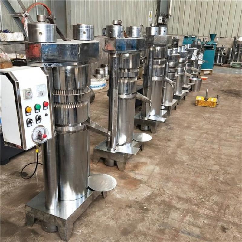 新型立式液压榨油机 大中小型核桃榨油机 大豆榨油机厂家 榨油机价格
