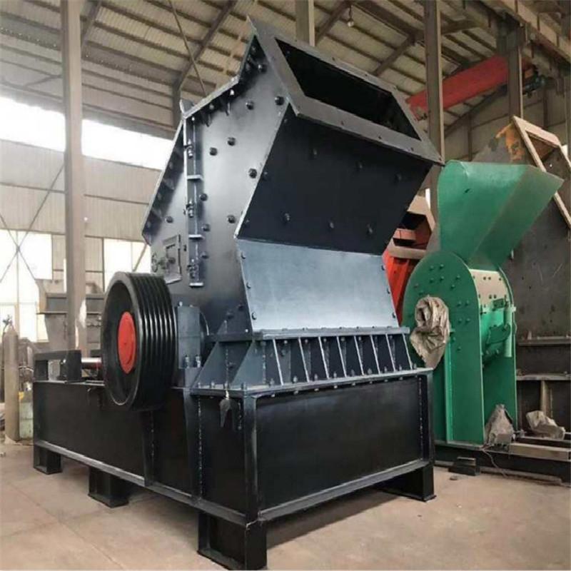 新型多功能矿石制砂机 液压开箱制砂机 河卵石制砂机生产线 锤式制沙机