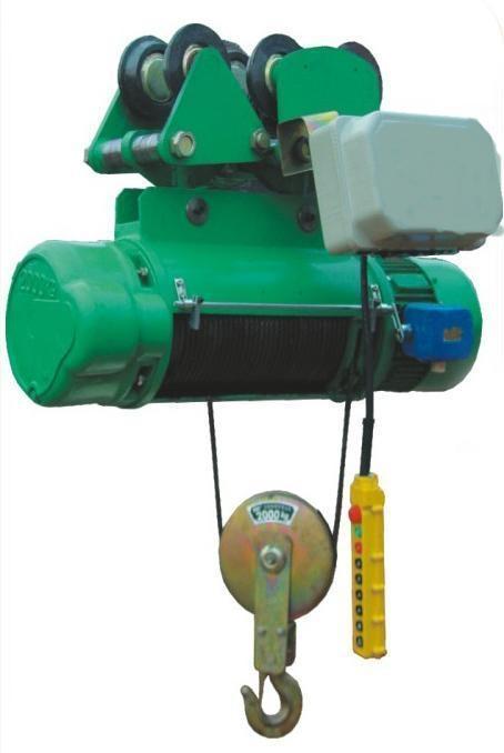 粉尘林产品钢丝绳防爆电动葫芦产品图片介绍