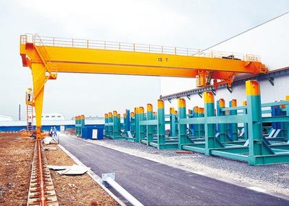 BMH型2~10吨电动葫芦半门式起重机及产品配件
