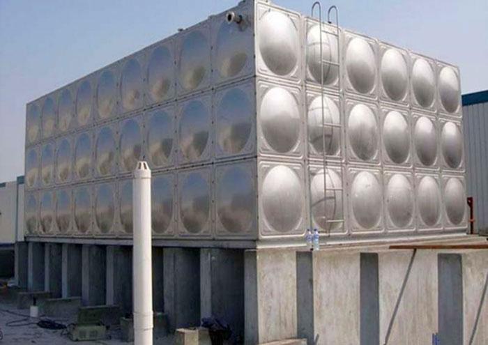 不锈钢水箱方形304保温18吨蓄水地埋长方形储水塔消防水箱包安装