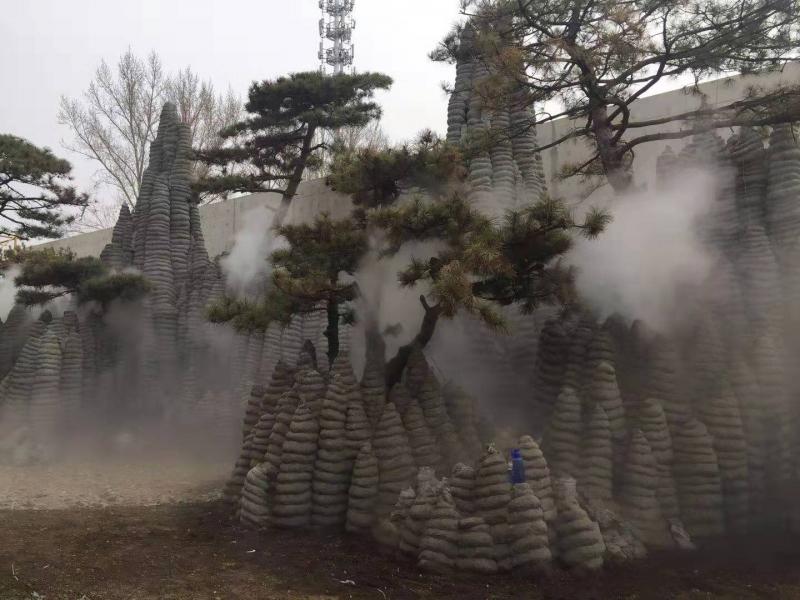 四川成都大型景区园林造雾系统—成都景美佳科技设备
