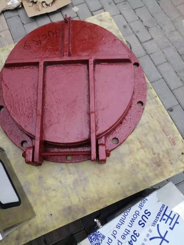 平板铸铁拍门