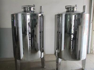 0.5T无菌水箱316食品级不锈钢水箱 反渗透纯水箱圆形储水罐