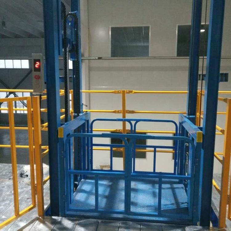 链条导轨式液压升降货梯
