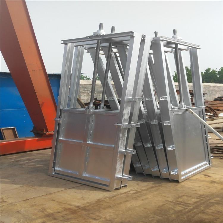 钢制闸门1.2*1.2m 钢坝厂家供应