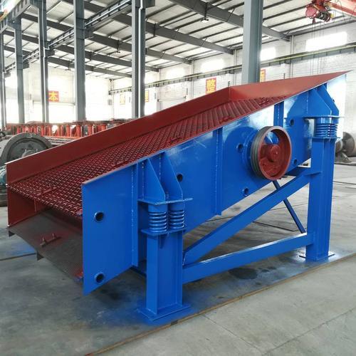 铁矿石直线振动筛 直线筛厂家推荐选型材质质保