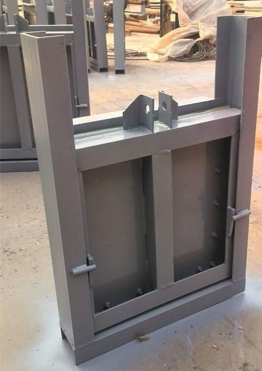 专业生产闸门 钢制闸门600*600