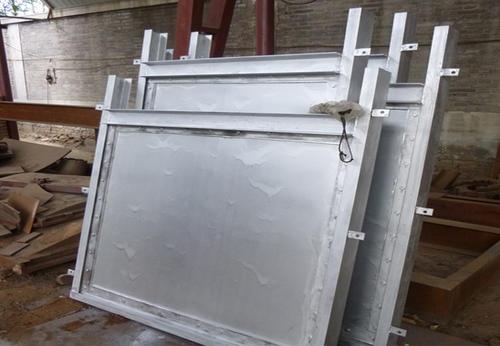 2米钢制闸门配手电两用式启闭机10T一套