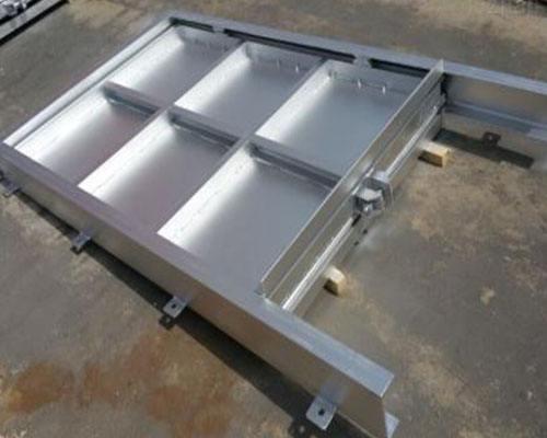 钢制闸门1米旋转闸门0.5米