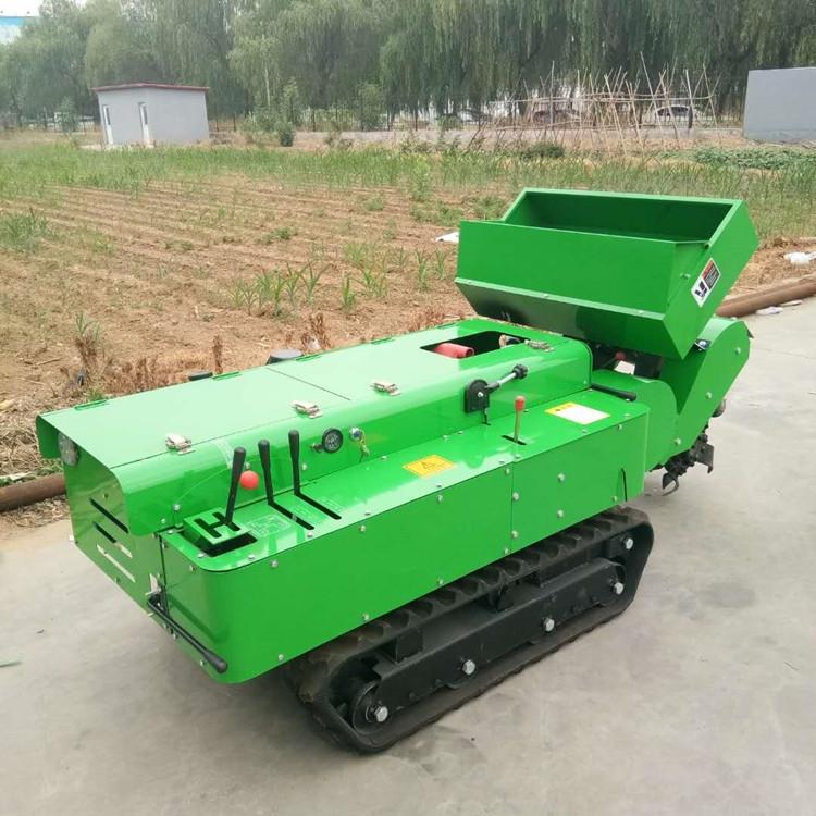 遥控式果园施肥机 果树施肥开沟机 开沟施肥一体机
