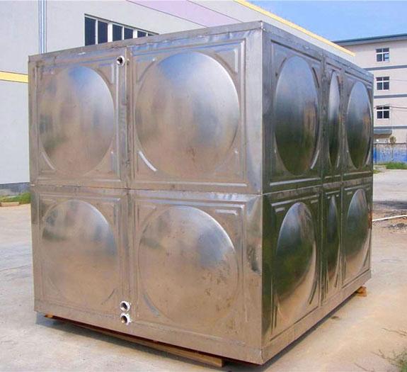 定制304不锈钢水箱家用1吨卧式储水罐蓄水桶屋顶太阳能水塔储水箱