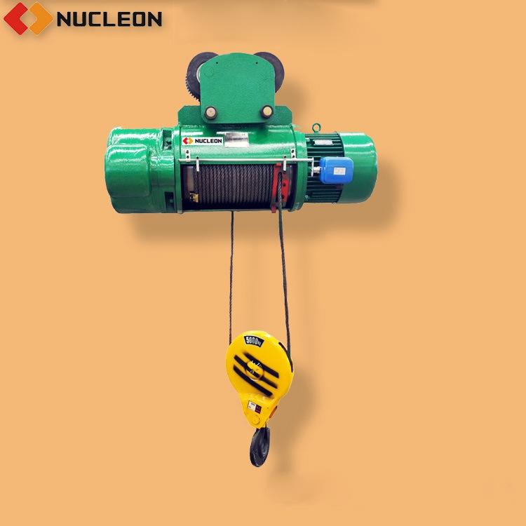 纽科伦 双速钢丝绳电动葫芦 纽科伦起重机
