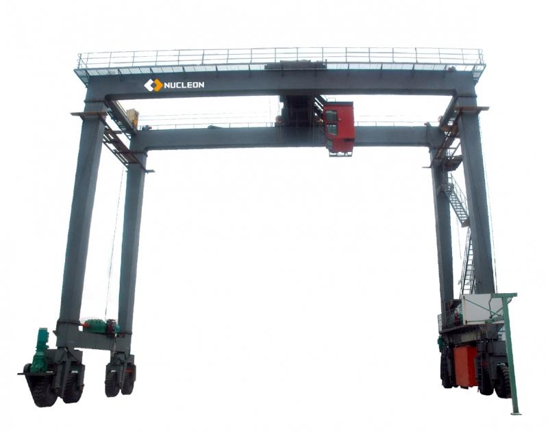 码头用轮胎式集装箱门式起重机 纽科伦生产厂家