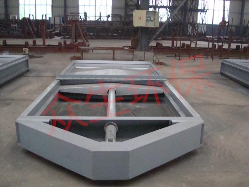 脱硫挡板阀厂家 众生环保电动液压烟道阀