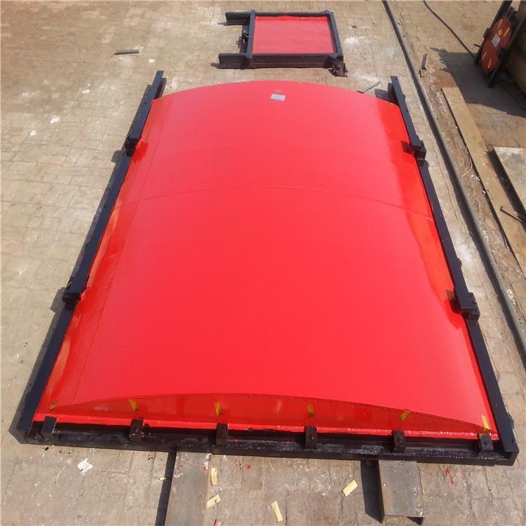 铸铁平面弧形闸门1米*1米