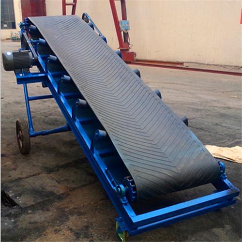 移动皮带输送机 粮食装车输送机 矿用传动输送机 防滑输送机报价