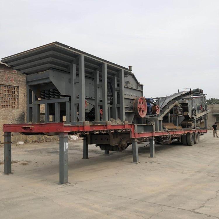 简易式移动破碎站 移动破碎站厂家 移动破碎站价格