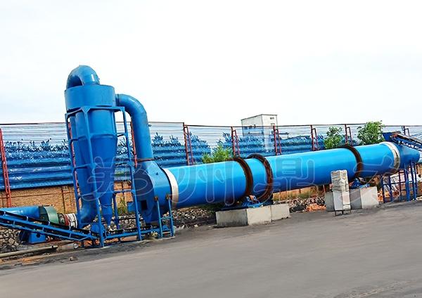 大型环保煤炭烘干机高效高产低能耗