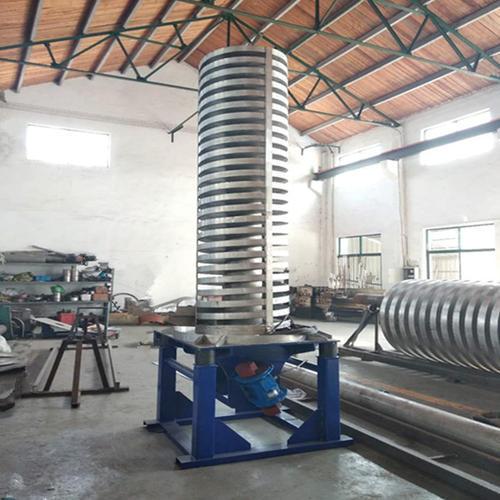 不锈钢 垂直螺旋振动提升机-催化剂冷却上料垂直提升机生产厂家