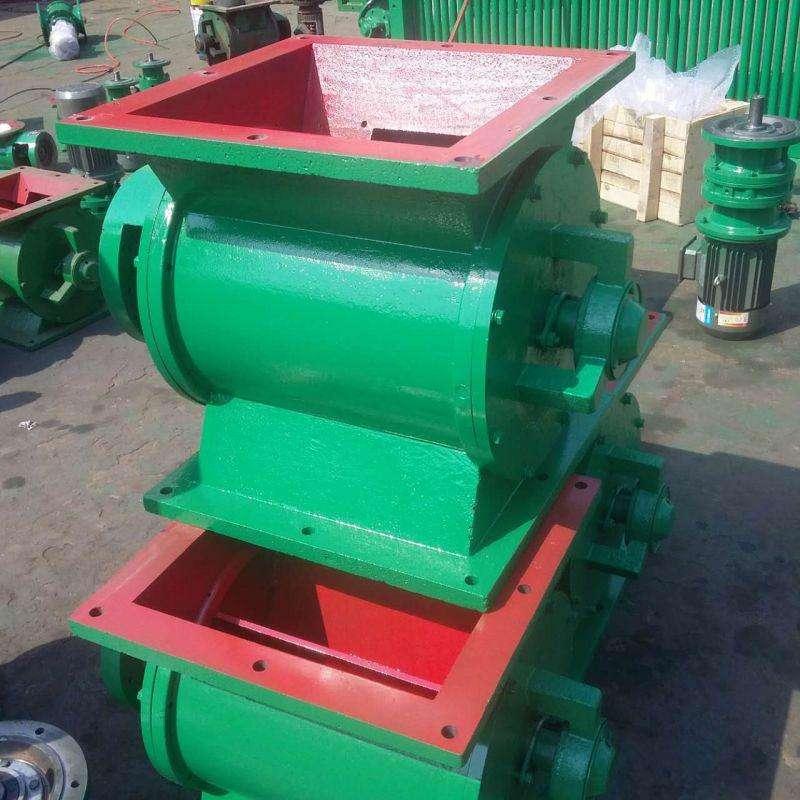 厂家生产叶轮给料机 星形卸灰阀价格 星型卸料器 粉煤灰给料设备