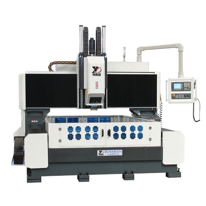 博斯曼数控钻铣床高速数控钻制动器行业专用数控打孔机自动钻床