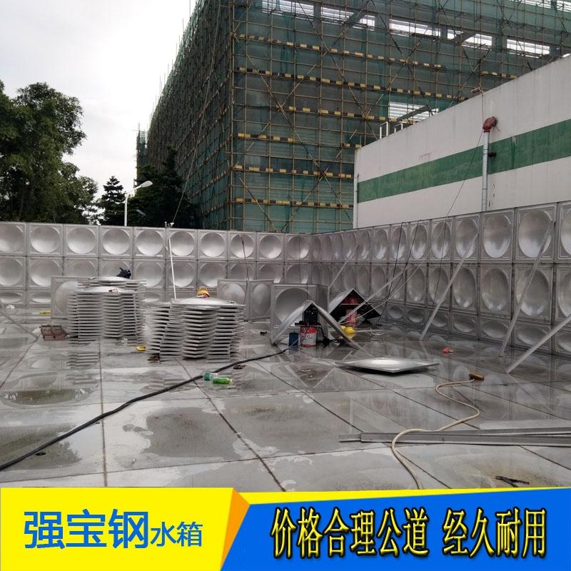 非常规定制304组合式不锈钢水箱水塔