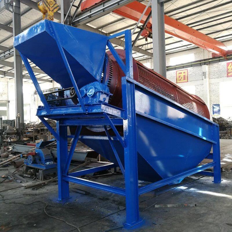厂家生产供应物料筛分设备 岩石砂石滚筒筛 采石场煤炭无轴振动筛