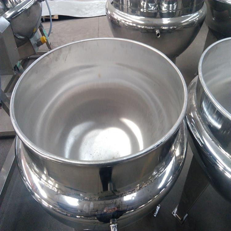 全不锈钢夹层锅   带搅拌夹层锅
