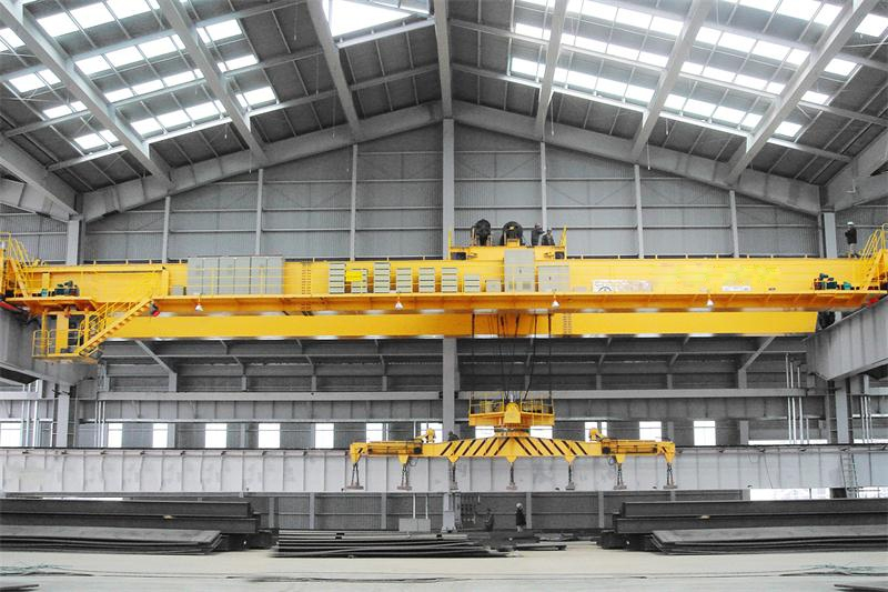 (10+10)吨电磁挂梁桥式起重机挂梁平行主梁河南纽科伦起重