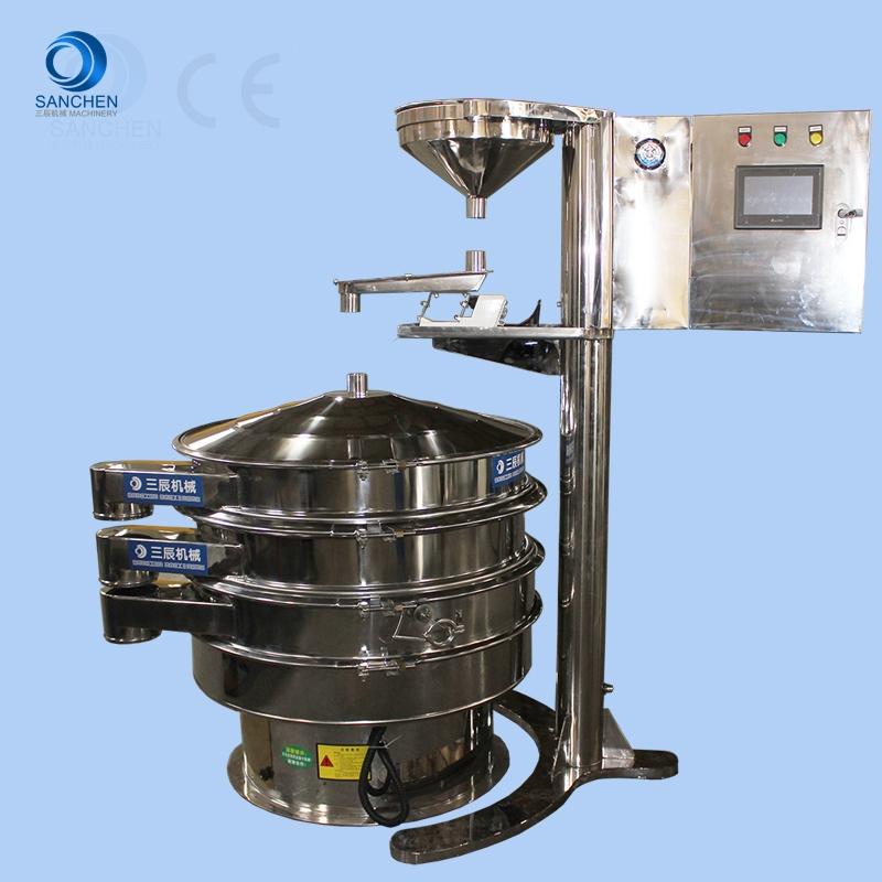 高纯石英砂专用超声波振动筛