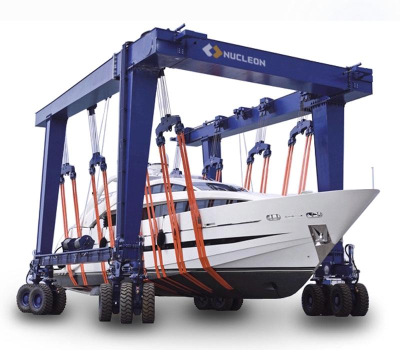 纽科伦起重机械生产厂家 游艇搬运门式起重机