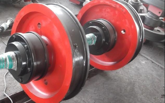 双轮缘车轮组,LD300车轮组 单梁双梁行车起重机车轮
