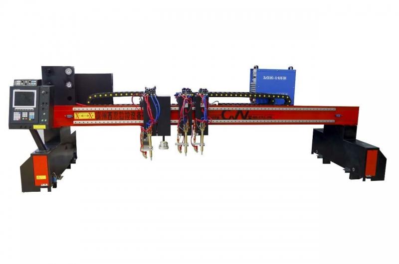 钢结构龙门式等离子火焰数控切割机 龙门式数控切割机