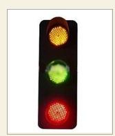 起重机配件 滑触线ABC用三相电压信号指示灯