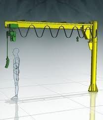 纽科伦新型悬臂吊生产厂家 小型悬臂起重机