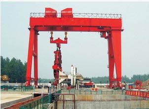 纽科伦厂家生产盾构用门式起重机