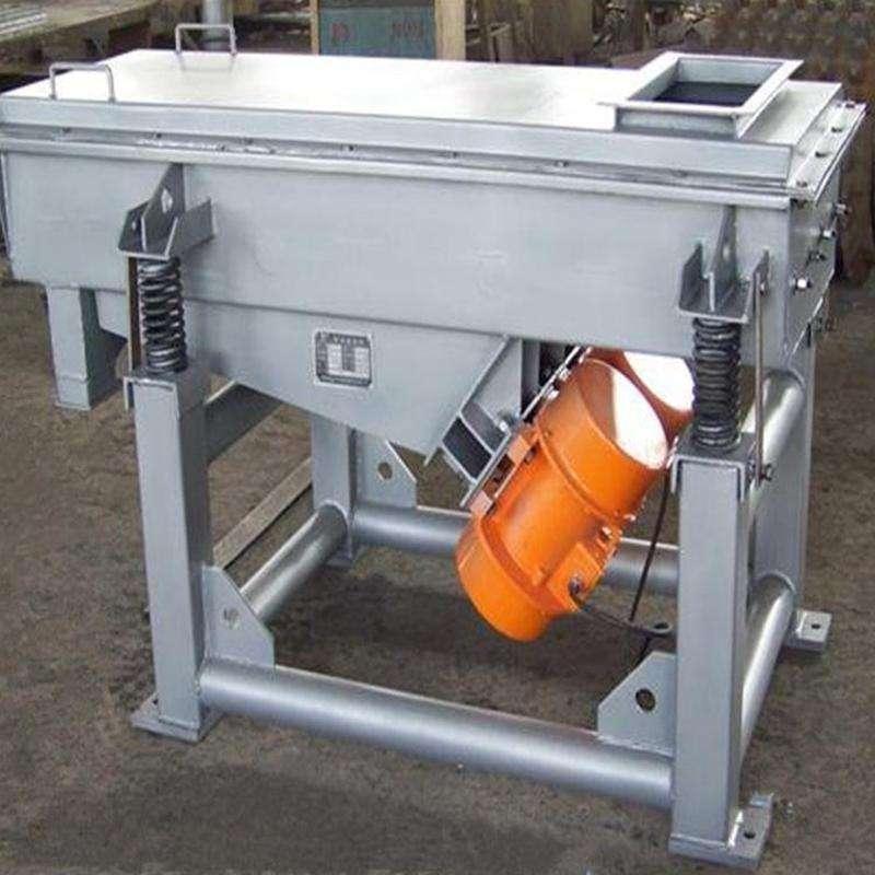 定制供应 氯化钠矿用振动筛价格 耐火材料矿用振动筛厂家制造